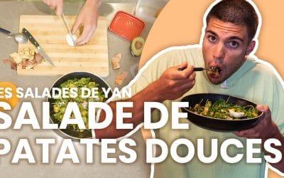 Les salades de Yan: Salade de patates douces